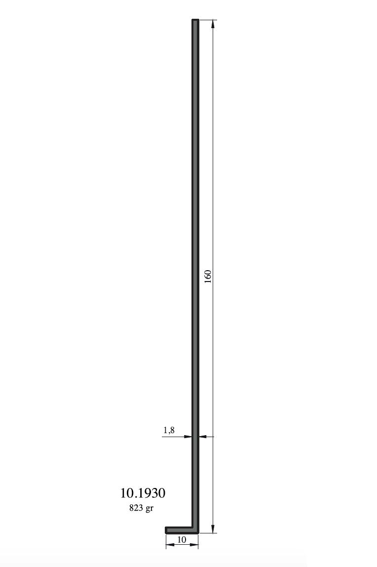 Hliníkové L profily