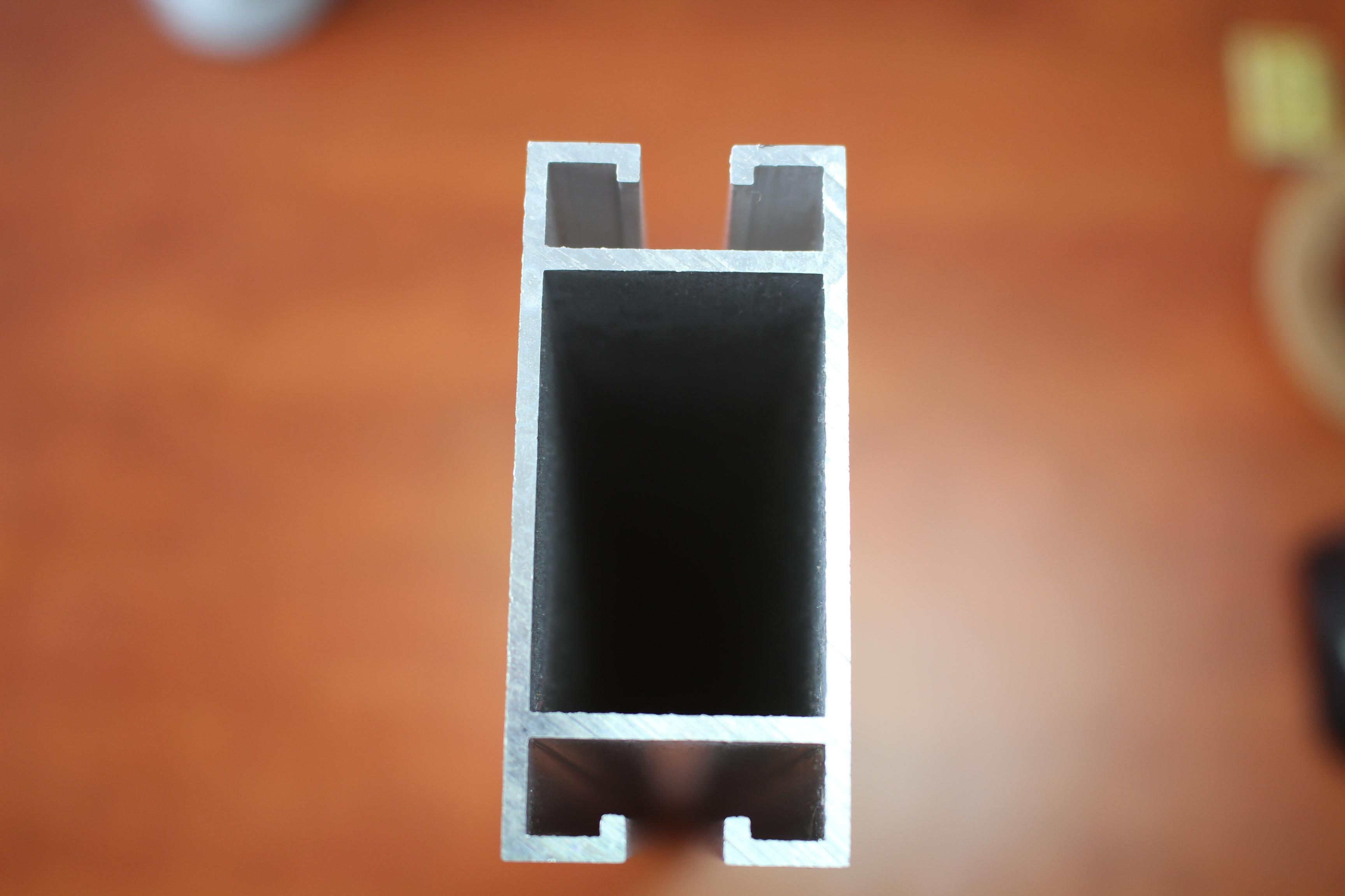 Hliníkové profily pro fotovoltaické konstrukce, nosné konstrukce