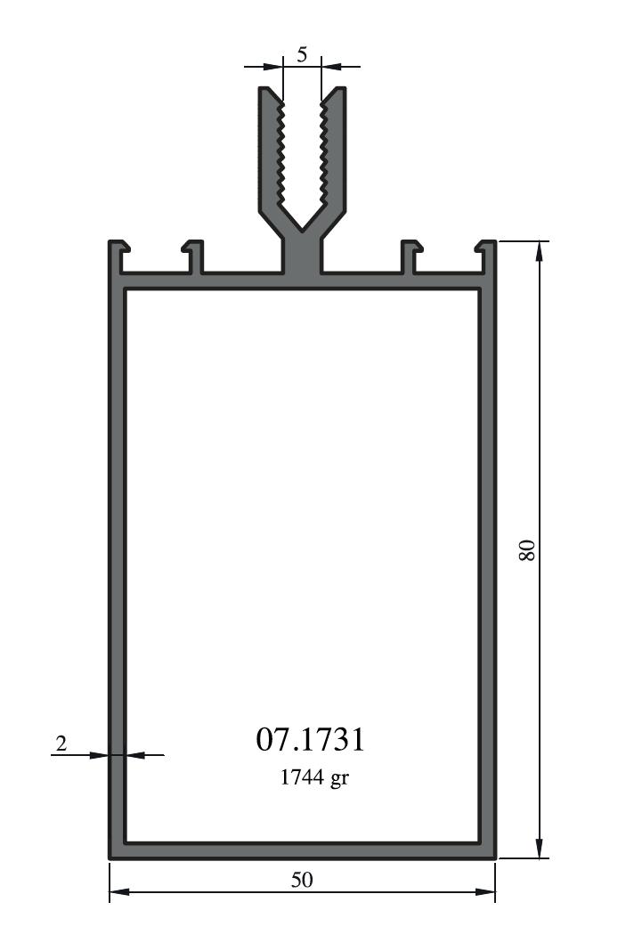 Stavební fasádní profily