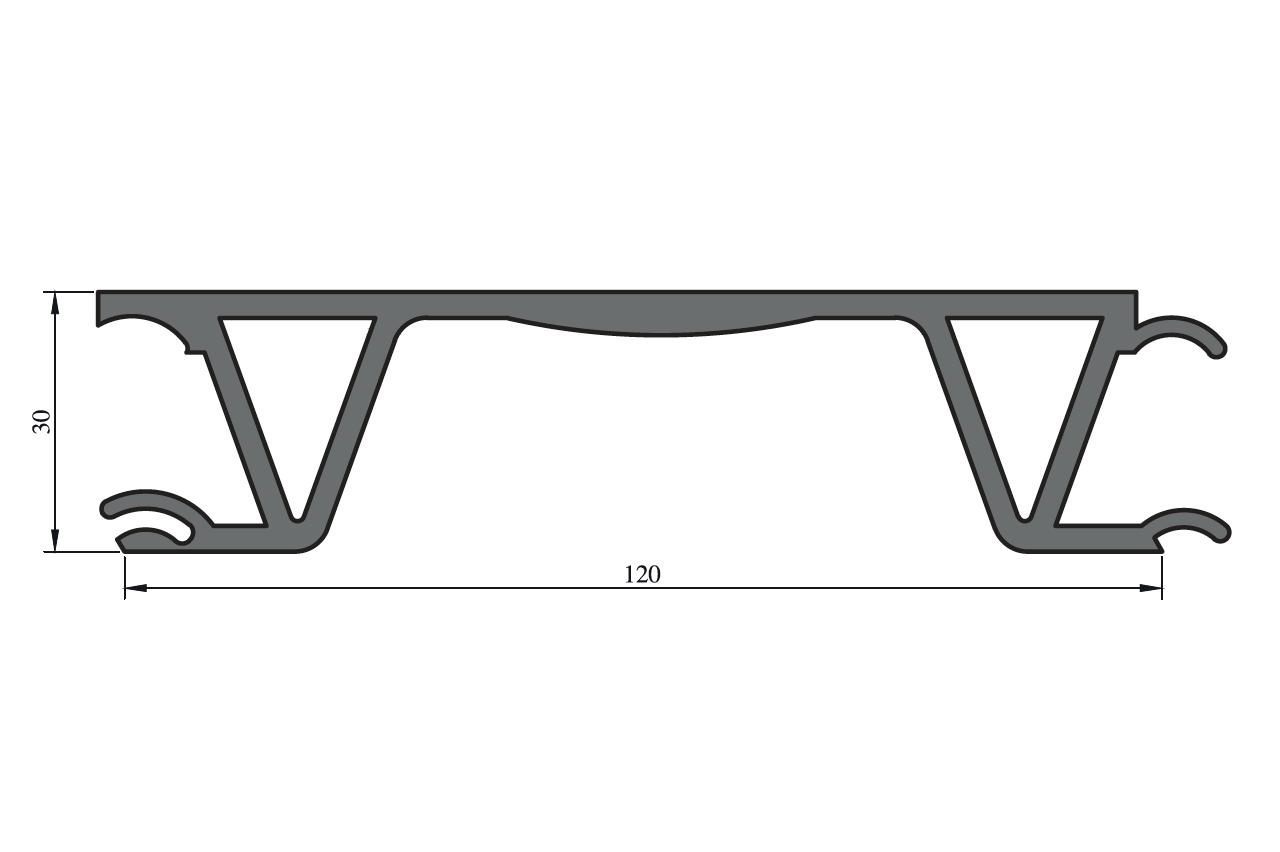 Profily pro valníkové nástavby