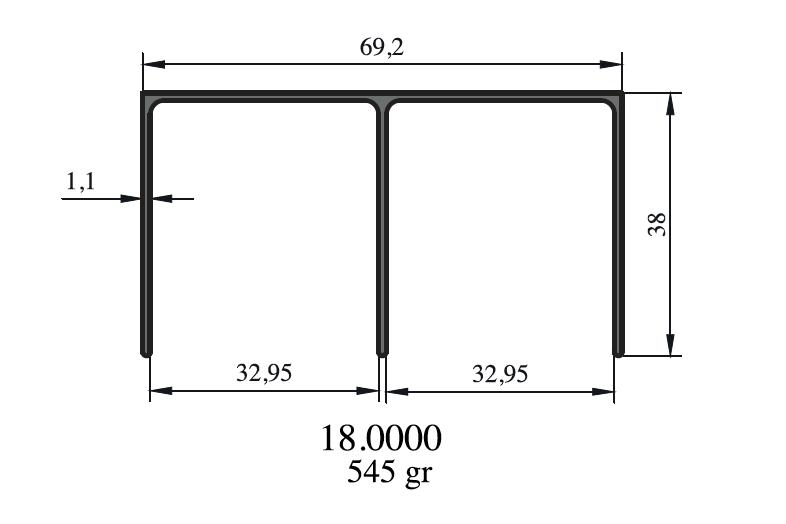 Hliníkové profily pro skříně