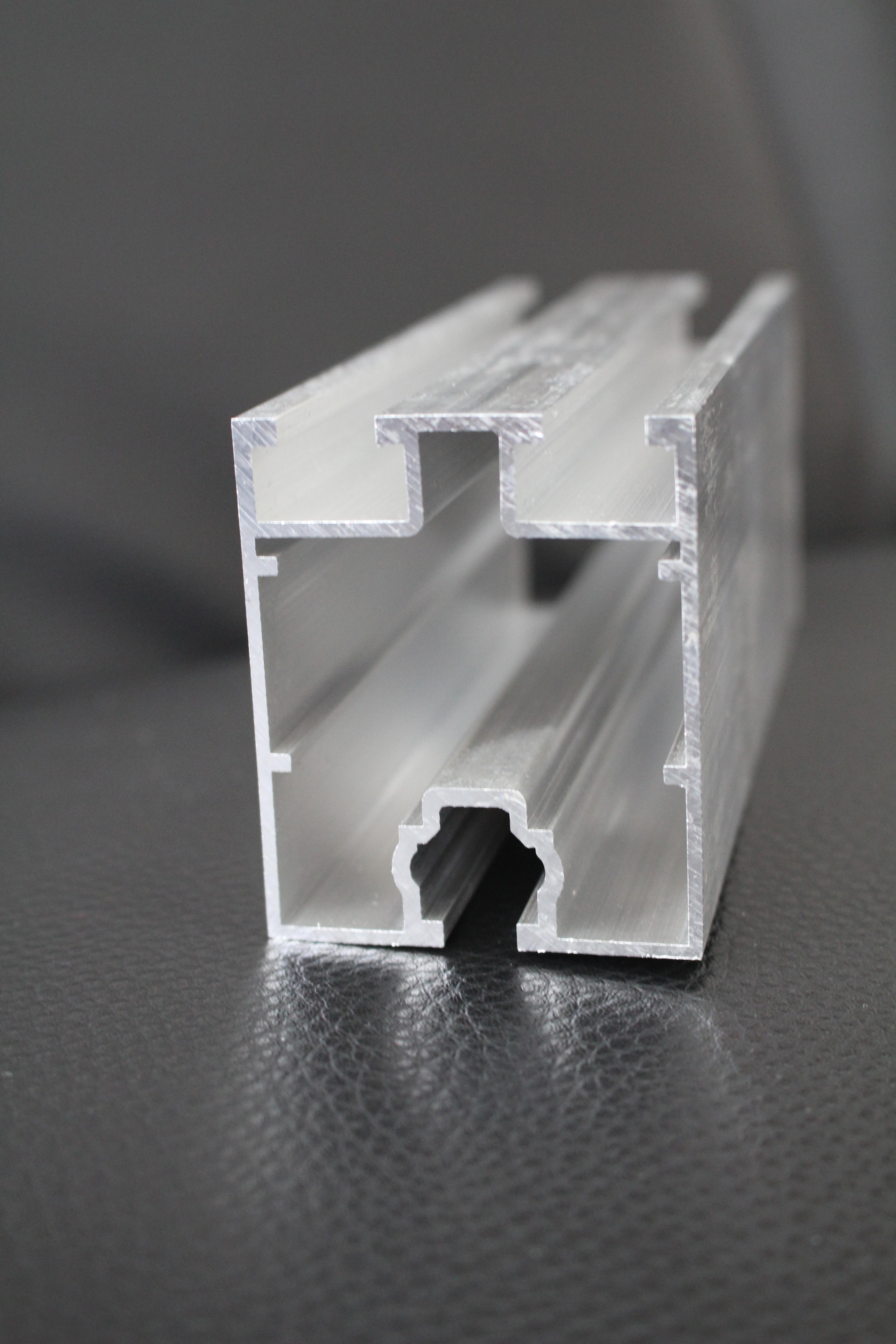 Hliníkové nosné konstrukce pro fotovoltaické panely - 60x50mm